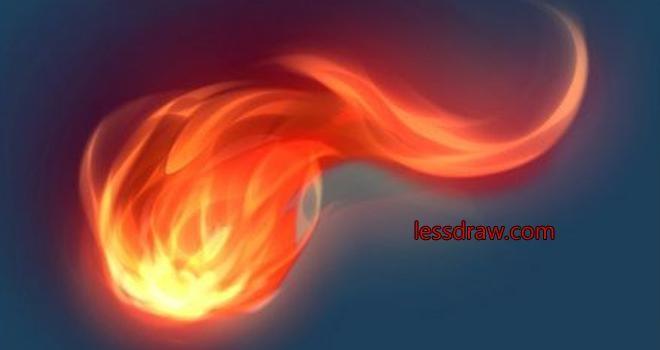 Як намалювати вогонь в фотошопі. Малюємо реалістичне полум'я