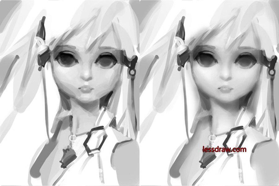 мастер класс рисования куклы