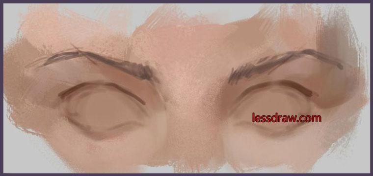 глаза в фотошопе как рисовать