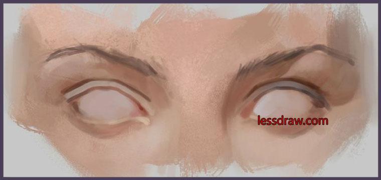учимся рисовать глаза поэтапно