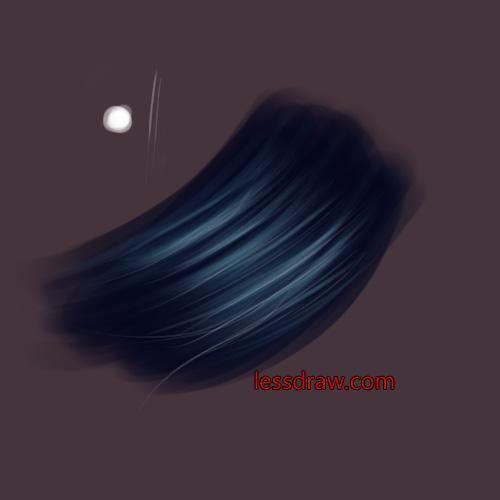 Как нарисовать волосы в фотошопе