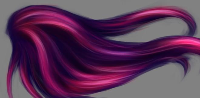 Урок з малювання волосся у фотошопі