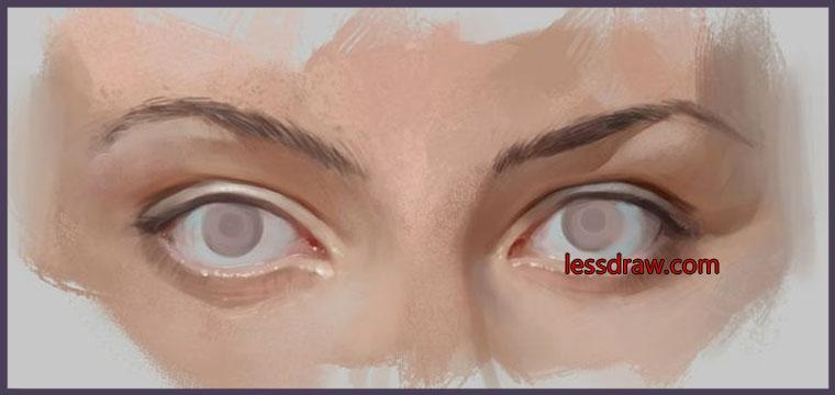 Как сделать в фотошопе глаза без зрачков - Rc-garaj.ru