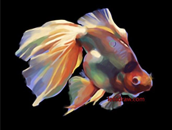 рыбки картинки нарисованные