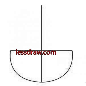 как нарисовать знак ассасина шаг 1