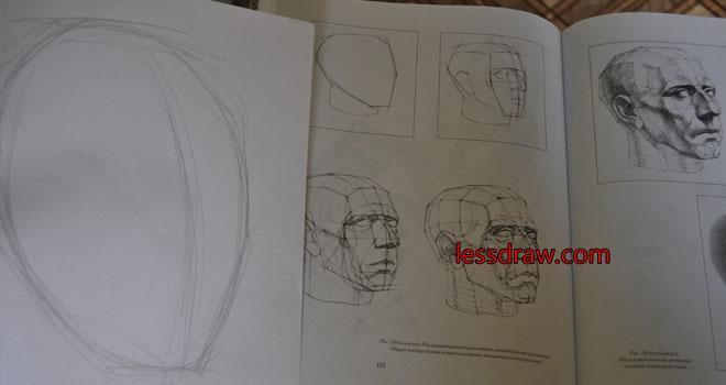 как нарисовать парня карандашом поэтапно