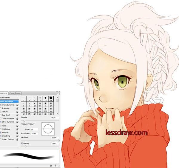 как рисовать аниме персонажей поэтапно