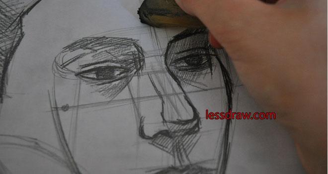 как нарисовать мужчину карандашом поэтапно