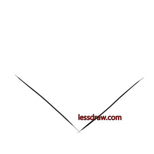 как нарисовать ракушку шаг 1