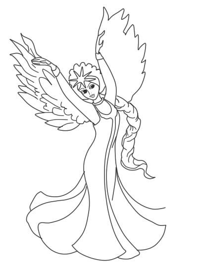 как нарисовать царевну лебедь шаг 11