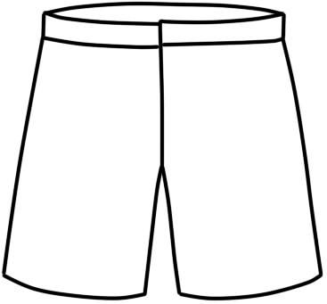 как нарисовать шорты шаг 11