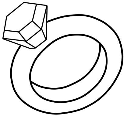 как нарисовать кольцо 11