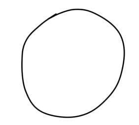 как нарисовать ремингтона из вакфу шаг 1