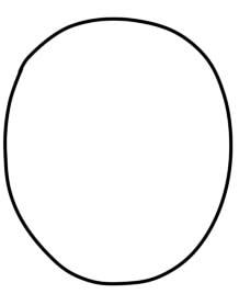 как нарисовать сову ребенку шаг 1