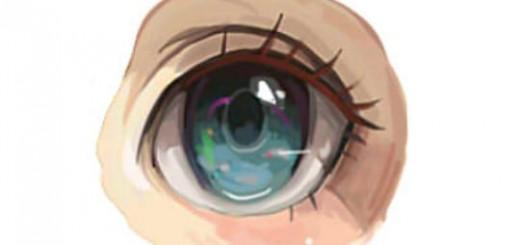 Как рисовать глаза в стиле аниме
