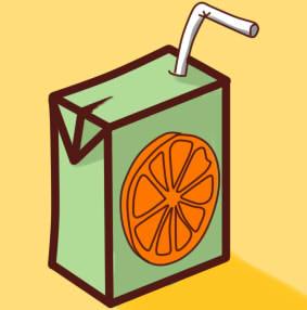 как нарисовать сок шаг 14