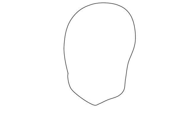как нарисовать вакфу шаг 1