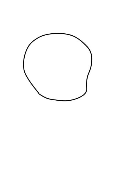 как нарисовать чиби шаг 1