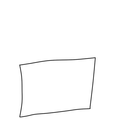 как нарисовать пирожное шаг 1