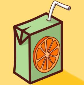 как нарисовать сок шаг 15