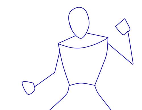 как нарисовать шредера шаг 1