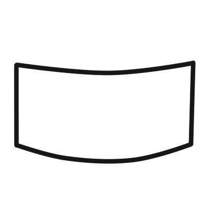 как нарисовать суши шаг 1