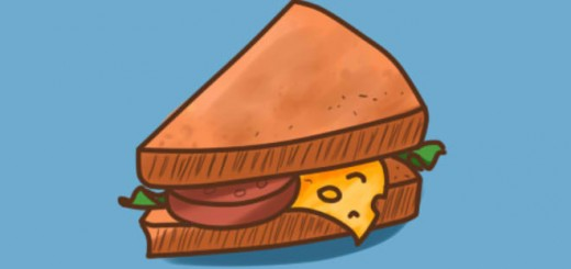 как нарисовать бутерброд поэтапно