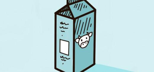 как нарисовать молоко