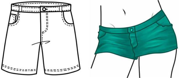 Как рисовать карандашом девушек в коротких платьях