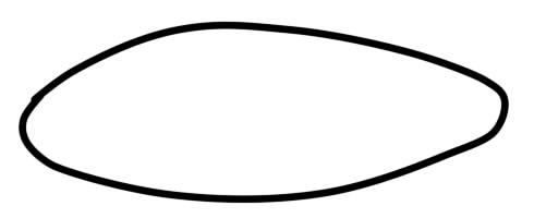 как нарисовать окуня шаг 1