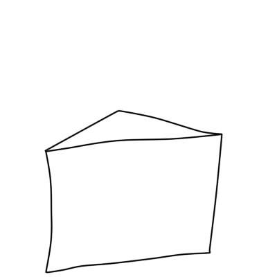 как нарисовать пирожное шаг 2
