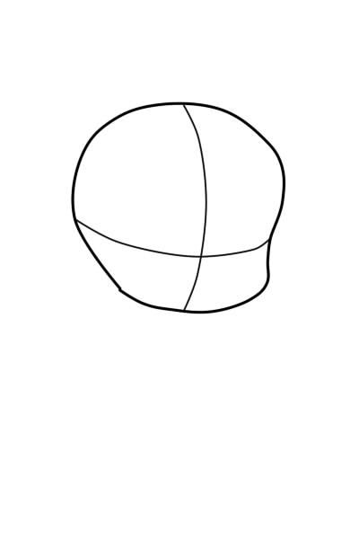 как нарисовать чиби шаг 2