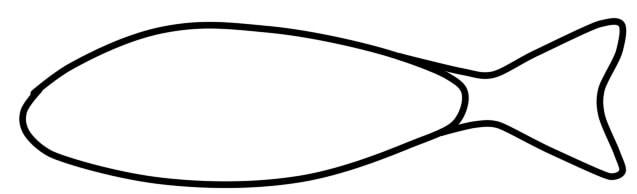как нарисовать окуня шаг 2