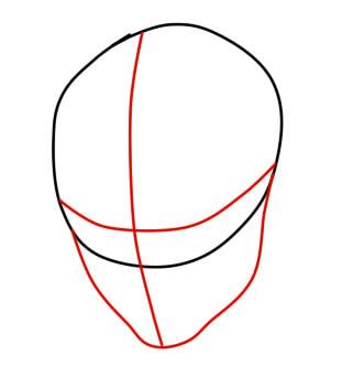 как нарисовать ремингтона из вакфу шаг 2