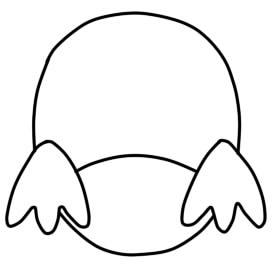 как нарисовать сову ребенку шаг 2