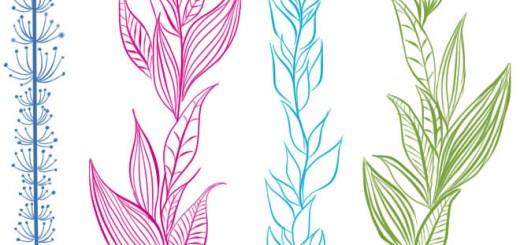 как нарисовать водоросль шаг 3