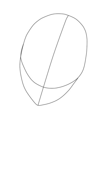 как нарисовать аниме девушку карандашом шаг 3