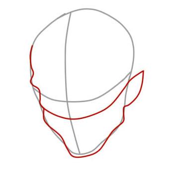 как нарисовать ремингтона из вакфу шаг 3