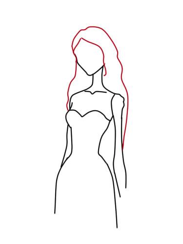 как нарисовать труп невесты шаг 5
