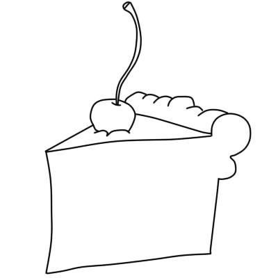 как нарисовать пирожное шаг 6