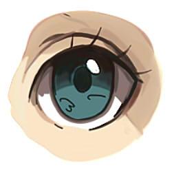 как рисовать аниме глаза шаг 6