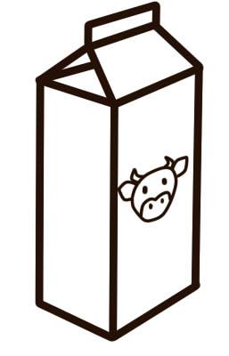 как нарисовать молоко карандашом шаг 6
