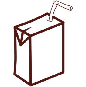 как нарисовать сок шаг 6