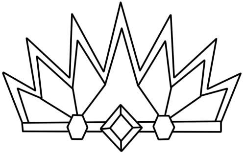 как нарисовать украшение корону6