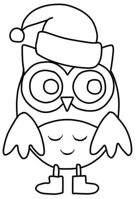 как нарисовать сову ребенку шаг 6