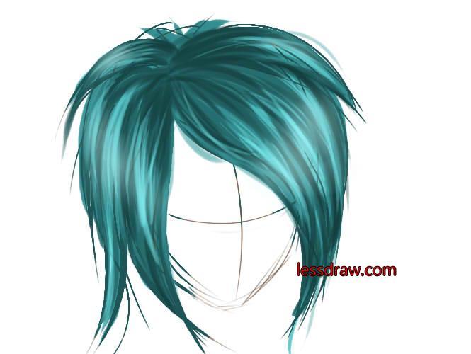 покрас волос в саи
