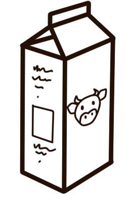 как нарисовать молоко карандашом шаг 7