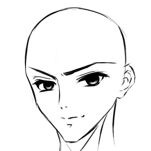 как нарисовать аниме парня шаг 7