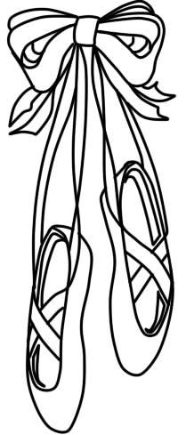 как нарисовать пуанты шаг 7