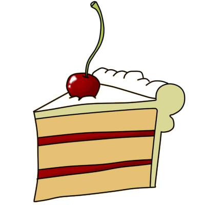 как нарисовать пирожное шаг 8